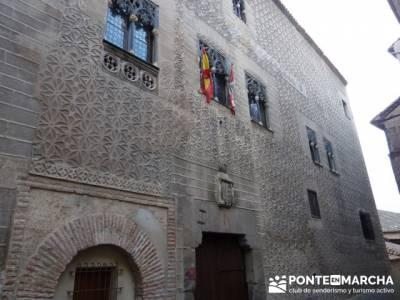 Destilería DYC y Ciudad de Segovia;rutas a pie por la sierra de madrid;senderismo madrid con niños
